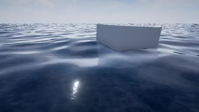 Watch and share Physical Water Surface - Unreal Engine 4 GIFs by theokoles on Gfycat