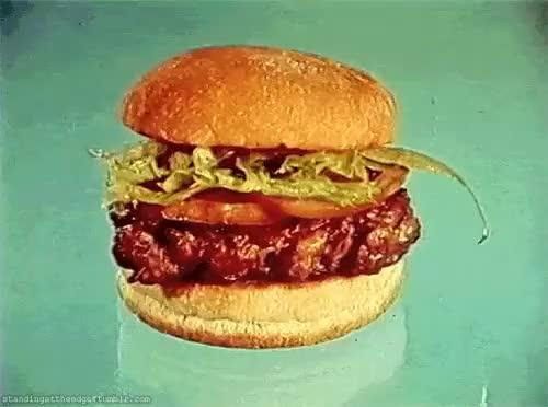 Watch and share Hamburgers GIFs and Burgers GIFs on Gfycat