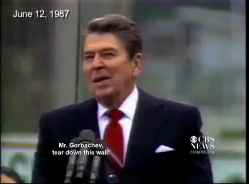 """Watch and share """"Mr. Gorbachev - Tear Down This Wall."""" GIFs on Gfycat"""