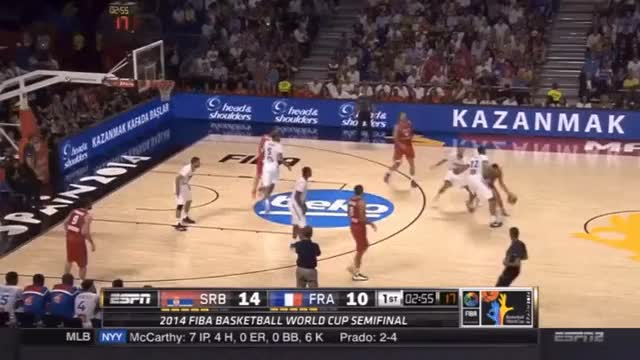 Watch Markovic corner 3 GIF by @reaper_13 on Gfycat. Discover more serbia GIFs on Gfycat