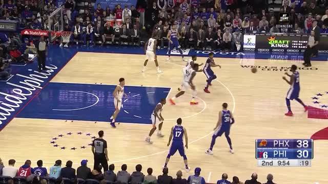 Watch and share Philadelphia 76ers GIFs and Phoenix Suns GIFs by Ben Mallis on Gfycat