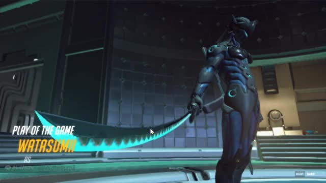 Watch Swift As The Wind GIF by watasumii on Gfycat. Discover more gamingpc, overwatch GIFs on Gfycat