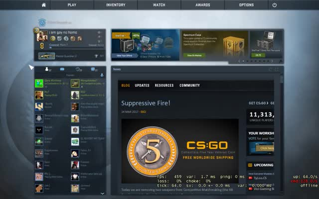 Watch and share New CS:GO Friends UI GIFs on Gfycat