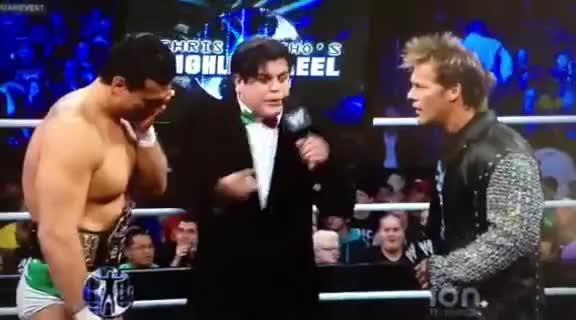 Alberto El Patron, Chris Jericho, Ricardo Rodriguez, WWE, Amusing Ricardo moment GIFs