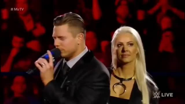 Watch 720pHD WWE Smackdown Live 03/14/17: MizTV with The Miz and Maryse GIF on Gfycat. Discover more the miz GIFs on Gfycat