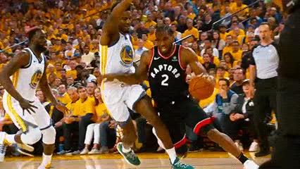 Watch and share Kawhi Leonard — Toronto Raptors GIFs by Off-Hand on Gfycat