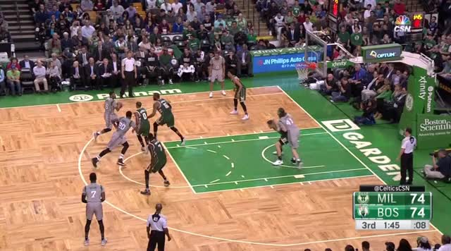 Watch Jaylen Brown stepback J GIF by bladner (@thebladner) on Gfycat. Discover more boston celtics, jaylen brown, nba GIFs on Gfycat