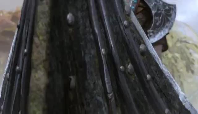 God of War - Be A Warrior: PS4 Gameplay Trailer | E3 2017 GIFs