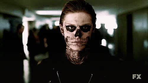 Watch and share Murder House GIFs and Tate Langdon GIFs on Gfycat