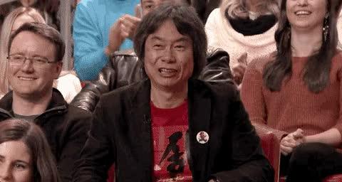 Watch miyamoto GIF on Gfycat. Discover more shigeru miyamoto GIFs on Gfycat
