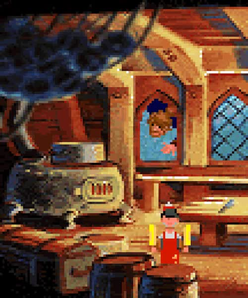 Watch and share Monkey Island 2 GIFs and Lucasarts GIFs on Gfycat