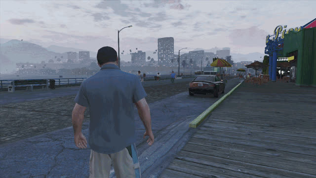 Five Ways You Can Make Grand Theft Auto V More Immersive GIFs
