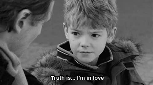Watch and share ... , Black And White, Boy, Cute, Little Boy, Love, Love Actually, Prett GIFs on Gfycat