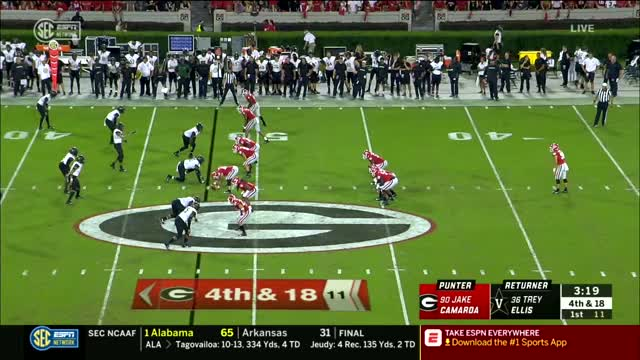 Watch Georgia vs Vanderbilt 2018 Full Game #HomerCast GIF on Gfycat. Discover more football GIFs on Gfycat