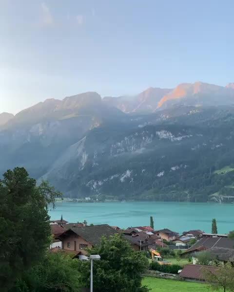 A calm Swiss morning GIFs