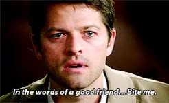 Watch Supernatural Daily GIF on Gfycat. Discover more *, 10k, Misha Collins, by gabi, castiel, gif, spnedit, supernatural GIFs on Gfycat