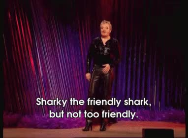 Watch and share Sharky The Friendly Shark GIFs on Gfycat