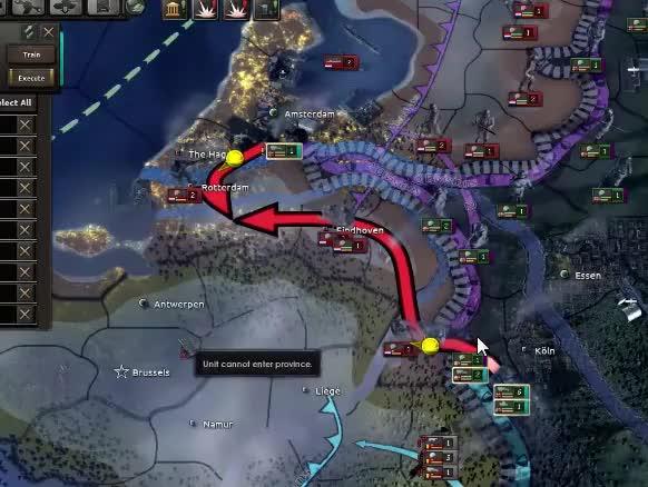 Civil War Battle Royale! | Hearts of Iron 4 (HOI4) GIF