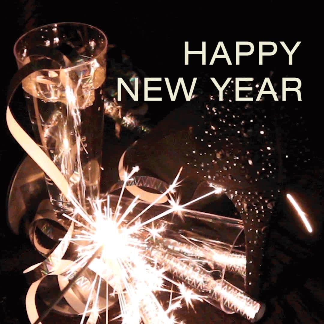 happy new year, holiday, new year, new years, Happy New Year - NATURIGIN GIFs