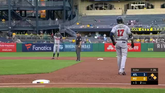 Watch and share Atlanta Braves GIFs and Baseball GIFs by Tasteliketurtles on Gfycat