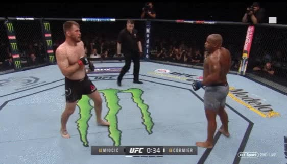 Watch Cormier Miocic KO GIF on Gfycat. Discover more related GIFs on Gfycat