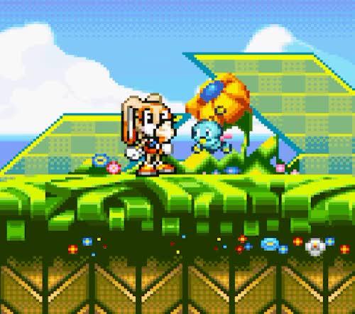 Ice Cream Sonic Advance 2 Gba 2002 Gif Gfycat
