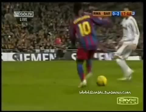 Watch and share Real Madrid GIFs and Ronaldinho GIFs on Gfycat