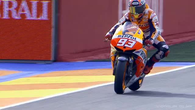 Watch and share Marquez GIFs and Motogp GIFs on Gfycat