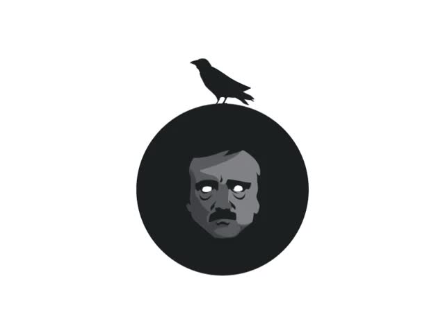 Watch and share Edgar Allan Poe By The Terrible Designer GIFs on Gfycat