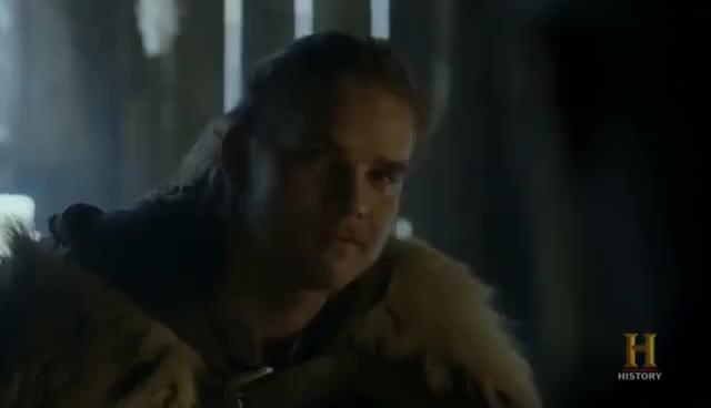 Vikings - Hvitserk Returns to Kattegat [Season 4B Official Scene
