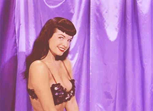 Watch this trending GIF on Gfycat. Discover more bettie page GIFs on Gfycat