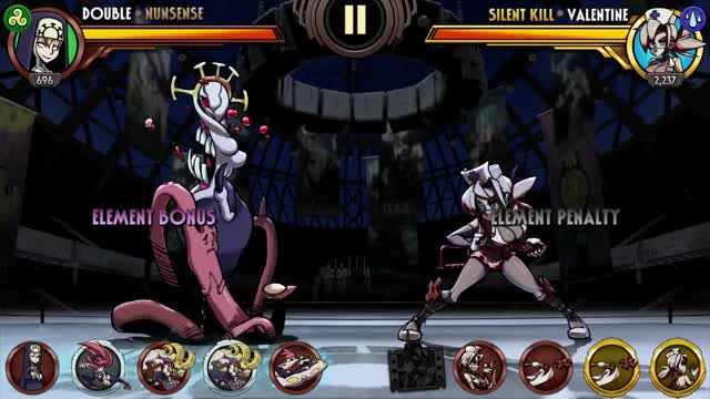 Watch Double Nunsense SA[1080] GIF by Skullgirls Mobile (@sgmobile) on Gfycat. Discover more sgmobile, skullgirls GIFs on Gfycat