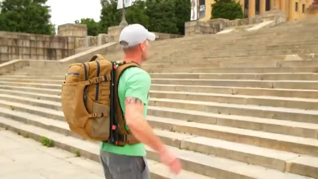 Watch The Hoverglide Floating Backpack GIF on Gfycat. Discover more Pack, hiking, lightningpacks, suspended GIFs on Gfycat