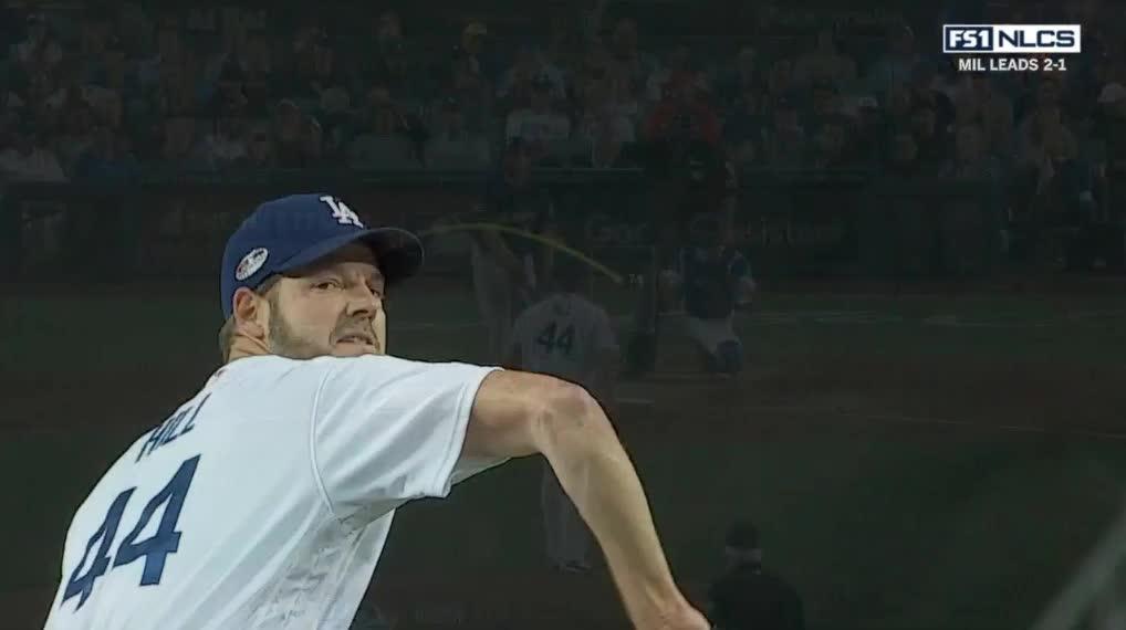 Milwaukee Brewers, baseball, nlcs rich hil 74 curve GIFs