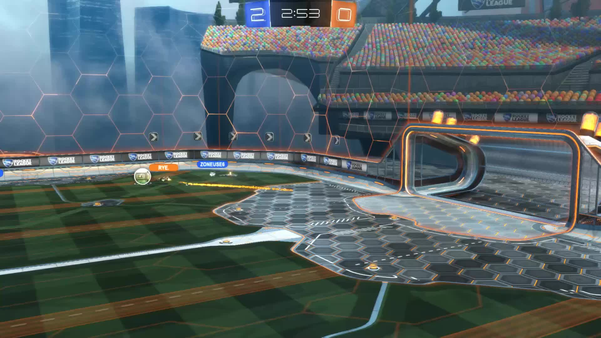 Gif Your Game, GifYourGame, Goal, Rocket League, RocketLeague, rye., Goal 3: rye. GIFs