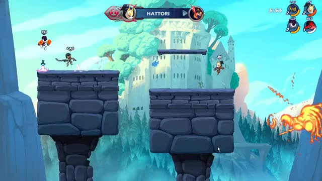 Watch and share Brawlhalla GIFs and Caspian GIFs by Kito on Gfycat