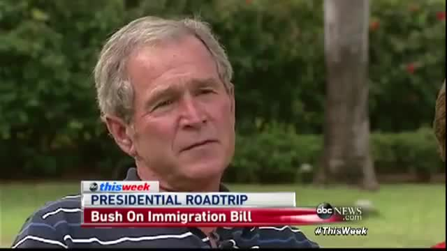 Watch and share George W. Bush On Gay Marriage, Immigration, And Why Obama Kept His Terrorism Policies GIFs on Gfycat