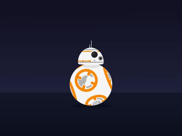 Watch and share BB8 GIFs on Gfycat