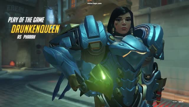 Overwatch pharah play of the game video