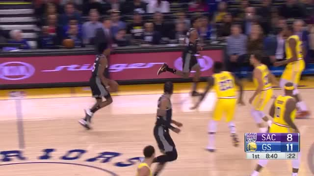 Watch and share Golden State Warriors GIFs and Sacramento Kings GIFs by dkurtenbach on Gfycat