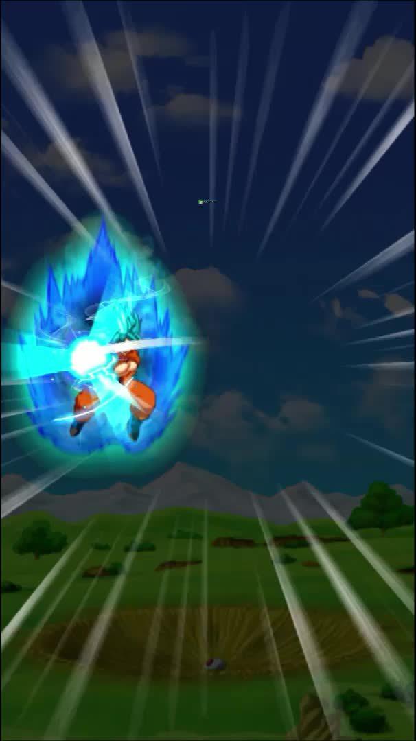 Dokkan Battle, dbzdokkanbattle, SSGSS Goku - Special Attack GIFs