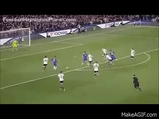 Watch and share Chelsea Vs Tottenham Hotspur 2-2 Eden Hazard Goal 2 May 2016 GIFs on Gfycat