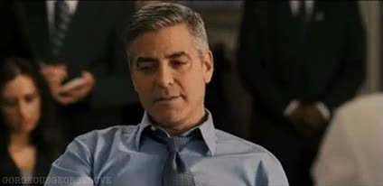 Watch and share George Clooney GIFs on Gfycat