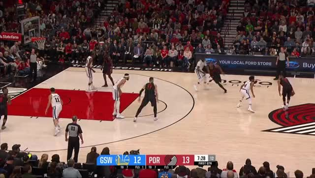 Watch and share Cj Mccollum GIFs and Nba GIFs by bladner on Gfycat