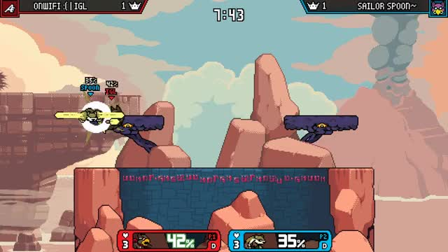 Watch IGL maypul combo GIF by IGL (@iglima) on Gfycat. Discover more IGL, combo, rivals of aether, rivalsofaether, wrastor GIFs on Gfycat