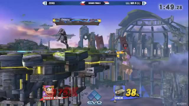 Evo 2015: Smash 4 Grand Final - Zero vs LLL Mr R (reddit