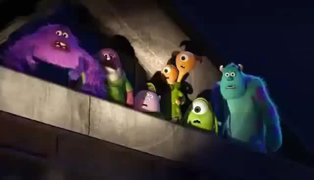 Art, Jail, Mike, Monster, Sully, Art GIFs