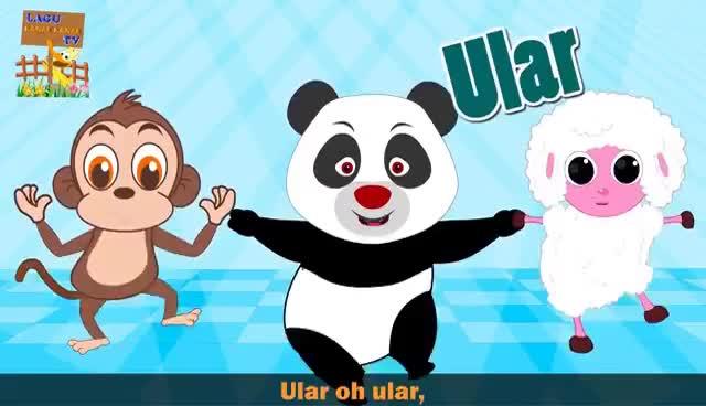 Bangau oh Bangau | Lagu Kanak-Kanak Melayu Malaysia