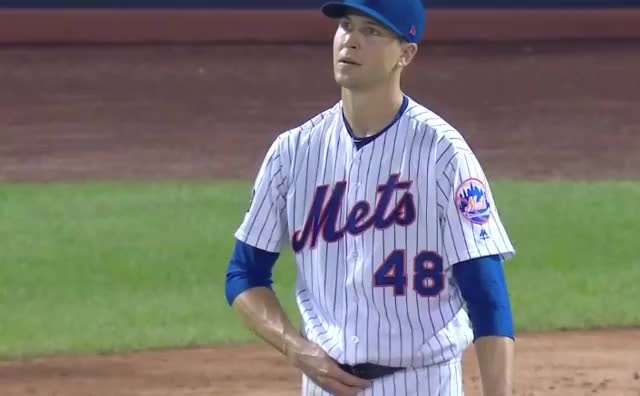 Watch and share Jacob Degrom GIFs and Highlights GIFs by Ely Sussman on Gfycat