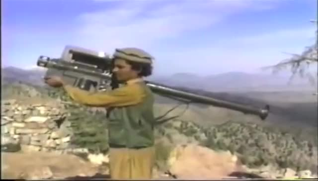 Watch and share Afghan Rebels Fire Stinger Missiles (1980s) GIFs on Gfycat